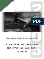 SCJ Principales Sentencias 2005_TI_agosto07