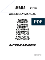 Yx70 Viking Assembly Manual