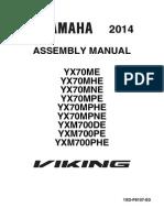 Yx70 Viking Assembly Manual