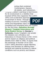 Christmer Pangilinan-Korean Philosophy