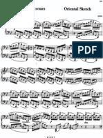 Rachmaninoff - Oriental Sketch, Op. Misc