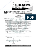 Math Sample Paper-1 ( With Solutions)