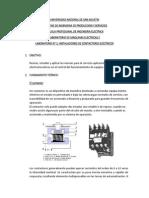 INSTALACIONES DE CONTACTORES ELÉCTRICOS