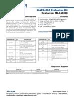 MAX44260EVKIT 1-Stage Sallen-Key Demo Board
