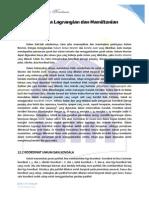 tugas translate chapter12 Lagrangian and Hamiltonian