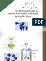Dieseño de biorreactor para la producción de acido