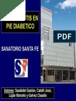 Osteomielitis en Pie Diabetico
