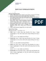 Teori Bahasa Dan Otomata Tbo String Dan Operasi String