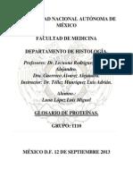 Histología - Proteínas