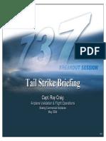 B737-Tailstrike