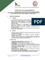 Directiva de Altas y Bajas