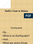 6th grade science chapter 2 lesson 1 earths crust in motion