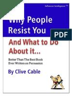 Why People Resist You