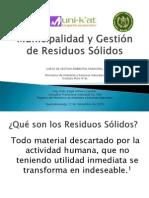 002_Municipalidad y Gestión de Residuos Sólidos