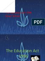 The Education Act 1996 & Smart School