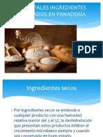 Ingredientes y Horneado