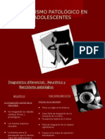 25265448 Narcisismo Patologico en Adolescentes