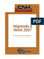 Manual Migrando a Word 2007