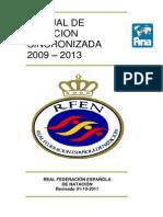 Manual Arbitro NSincronizada 2009 2013 Octubre2011