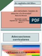 Adecuaciones curriculares. Material de consulta - 2º EDUCACIÓN PRIMARIA ISP Nº 7