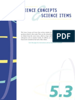 PISA Science Concepts Items