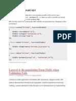 Laravel-composite Primary Key