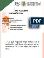 Instrumental y Acceso Endodontico