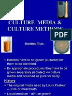 Culture Media & Culture Methods