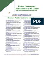 Recursos Web 2 0