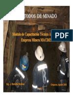 informe minero