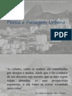 Poesia e Paisagem Urbana2