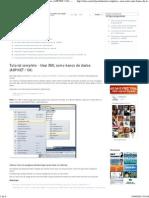 Tutorial Completo - Usar XML Como Banco de Dados (ASP.net _ C#) - Codebreak