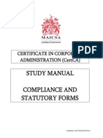 Students Manuals Cca Csf