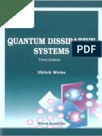 Quantum Dissipative Systems