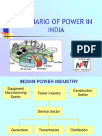 Scenario of Power in India-2011