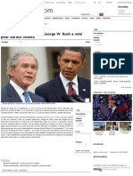 George W. Bush a voté pour Barack Obama