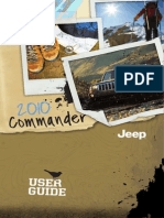 2010 Jeep Commander (XK) User Guide