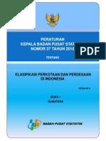 Master File Desa 2010 Buku 1 Sumatera
