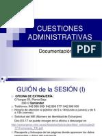 cuestiones administrativas 2013-14