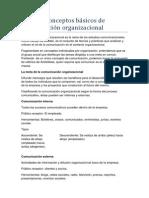 Tema 2Conceptos básicos de comunicación organizacional