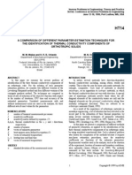A Comparison of Different Parameter Estimation Technique for the Identification of Thermal Conductivity Components of Orthotropic Solids