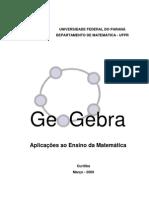 GeoGebra - Aplicações ao Ensino da Matemática