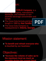 coke mission statement