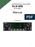 KLN 90B Manual