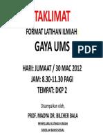 Format Ilmiah Sss 2012