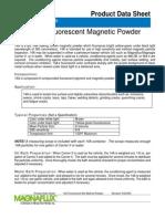 Magnaglo~Reg 14A Fluorescent Magnetic Powder Wet Method