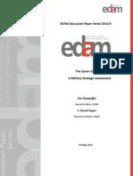 Syrian Military Assessment 2013