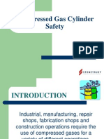 Compressed Gas Cylinders PowerPoint