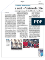 Rassegna Stampa 06.10.2013
