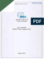 Regione Veneto. Deliberazione n 560 del 22.08.2013 - Allegato A